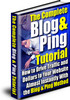 The BLOG AND PING TUTORIAL With Plr