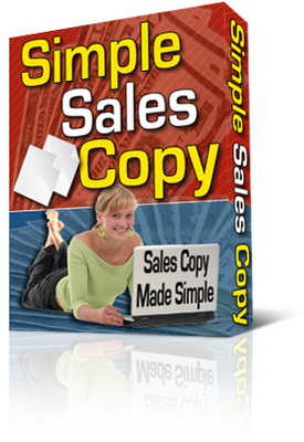 Product picture Simple Sales Copy Software With PLR