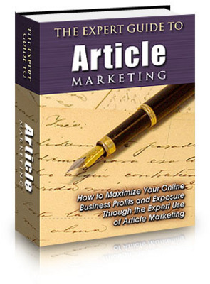 Product picture The Expert Guide to Article Marketing With Plr