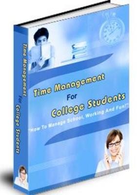 Product picture TIME MANAGEMENT FOR COLLEGE STUDENTS WITH PLR
