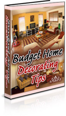 Product picture The Budget Guide to Home Decor With PLR